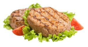 piatto hamburger