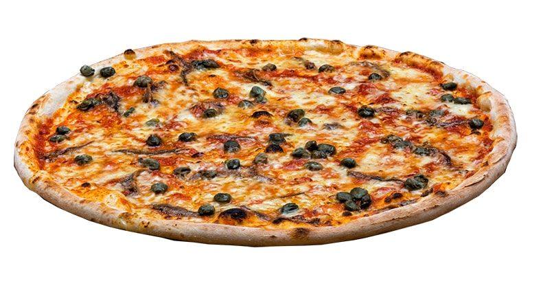 pizza acciughe capperi olive